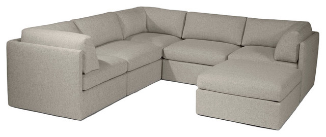 modern sectional sofas by Thayer Coggin