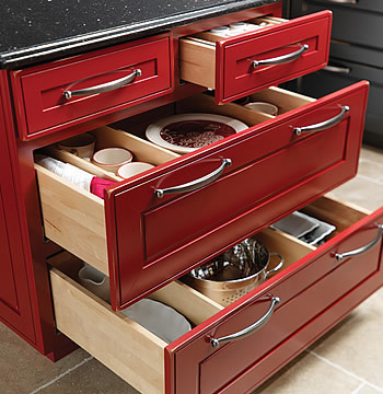 Base Cooking Center - Traditional - Kitchen Cabinetry - other metro - by Merillat