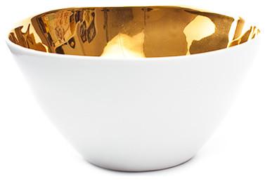 Tse & Tse Hungry Bowl Gold - Tse & Tse modern-bowls