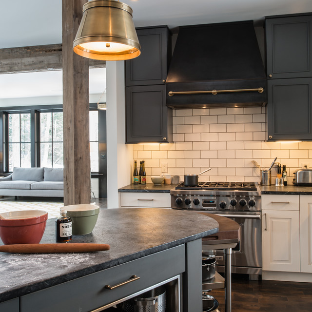 "A New Definition for ""Up North"" Style contemporary-kitchen"
