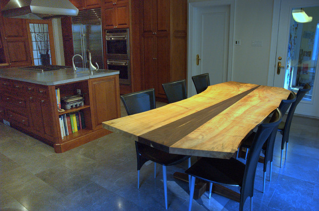 black walnut dining table sale price 4900 contemporary kitchen