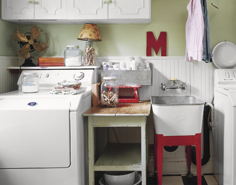 Laundry Room eclectic 