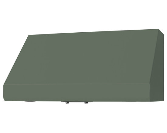 "36"" Prizer Incline Hood in Cement Grey (RAL 7033) - Cement Grey (RAL 7033)"