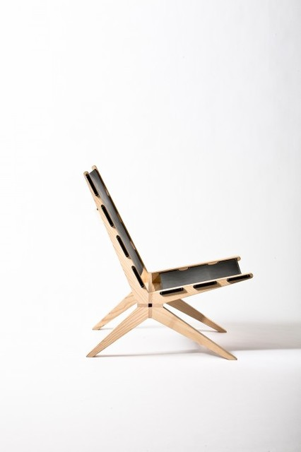 X Chair contemporary-living-room-chairs