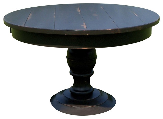 48 round dakota dining table farmhouse dining tables for Table quiz rounds