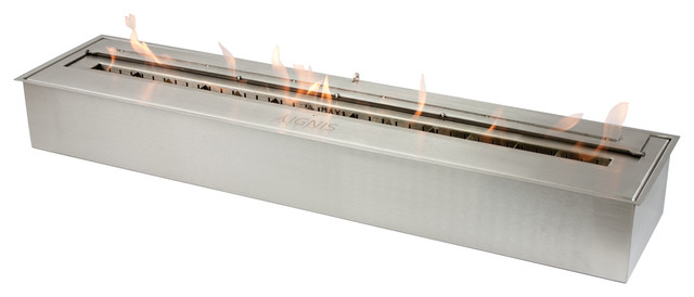 Ethanol Fireplace Burner Insert - EB3600 contemporary-fireplaces