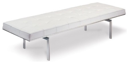 Darin Stainless Steel Bench modern-benches