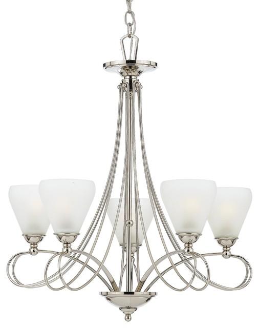 Quoizel Lighting DK5005IS 5 Light Chandelier Denmark Collection chandeliers