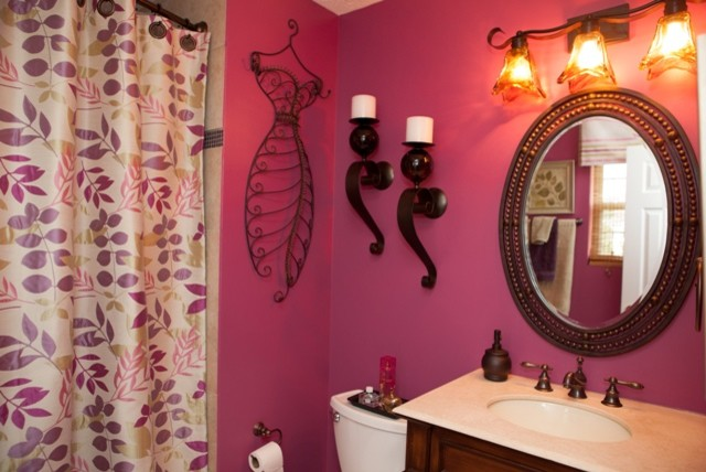 Master Bedroom eclectic-bathroom