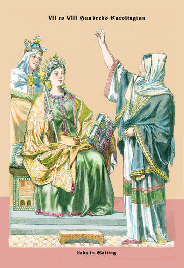 Carolingian Queen, 8th Century 20x30 poster contemporary-prints-and-posters