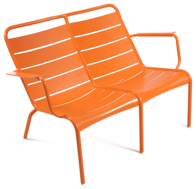 4105 Low Armchair Duo by Fermob modern outdoor chairs