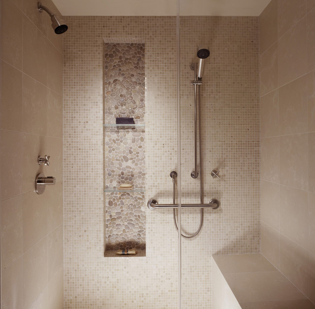 contemporary bathroom by Michael Tauber Architecture
