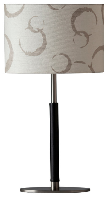 Isabella Table Lamp, Taupe contemporary-table-lamps