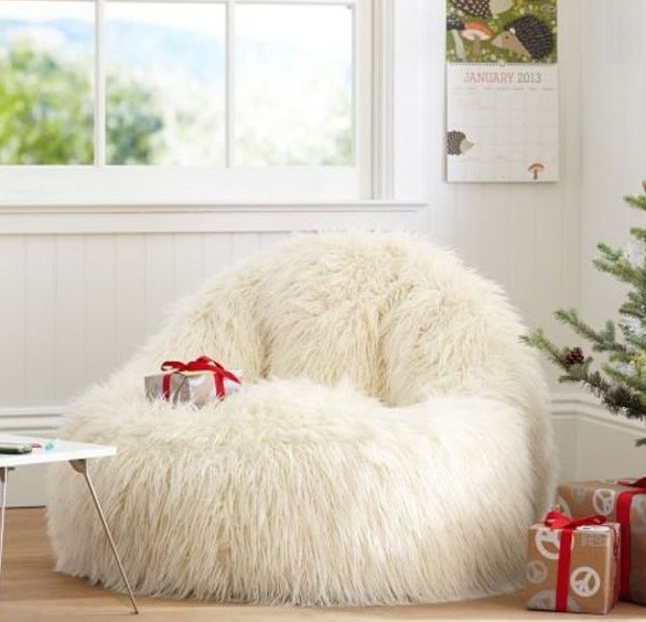 Fuzzy chair for Kids fluffy chair