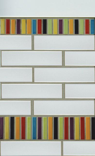 Brilliant 31 MultiColor Tiled Bathroom Designs  DigsDigs