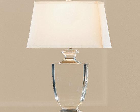 Palladian Crystal Urn Table Lamp -
