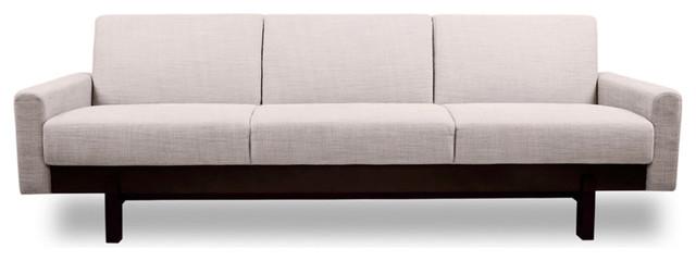 Paddington Beige 3 Seat Couch Modern Sofas