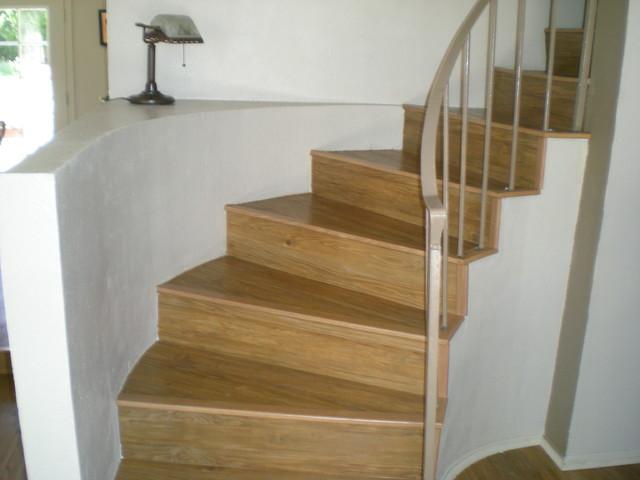 Konecto LVT Stairs Traditional Vinyl Flooring