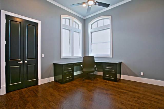 homes transitional-home-office