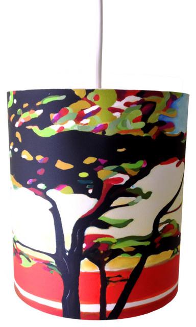"Cypress Cove, 8"" X 9"", No Diffuser contemporary-pendant-lighting"