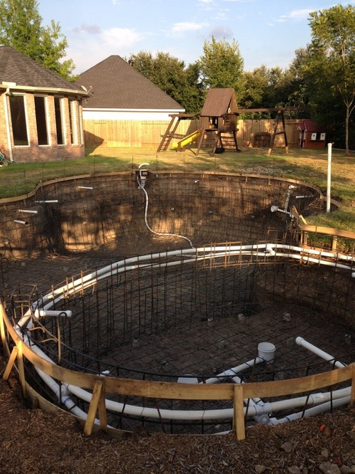 New pool build katy tx for Pool design katy tx