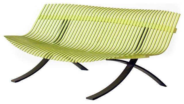 "Fermob - Charivari 97"" Bench modern-outdoor-benches"