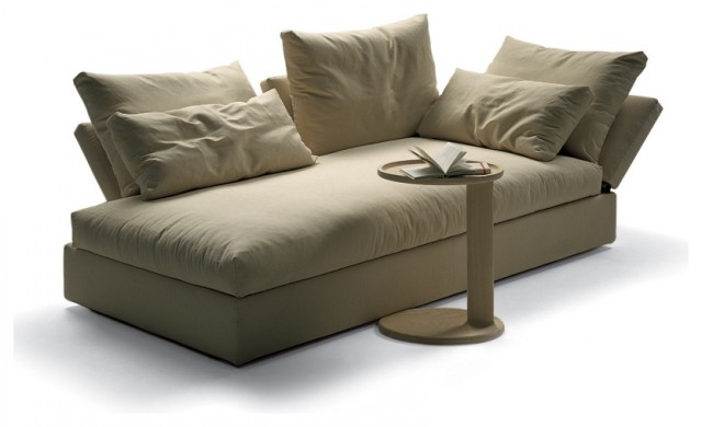 Flexform Sunny Chaise Longue modern day beds and chaises