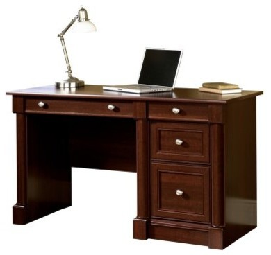 Sauder Palladia Computer Desk Select Cherry