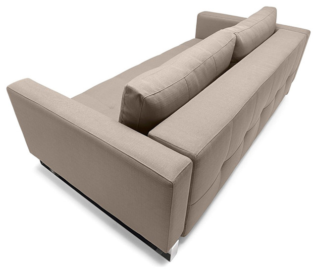 Cassius deluxe queen sofa bed modern futons los for Sofa bed los angeles