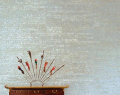Mother of Pearl Wallcovering contemporary-wallpaper