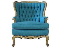 modern victorian chair - more information