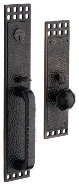 Pasadena Mortise Handleset rustic-door-hardware