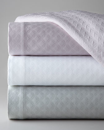 "SFERRA Full/Queen Matelasse Coverlet, 96"" x 100"" traditional-quilts-and-quilt-sets"