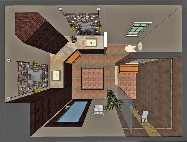 Mount Laurel Residence asian-rendering