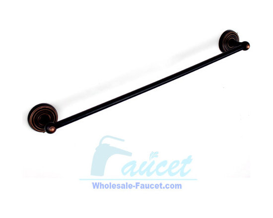 "24"" Oil Rubbed Bronze Bathroom Towel Bar - ●24"" Oil Rubbed Bronze Finish Bathroom Towel Bar K-103"