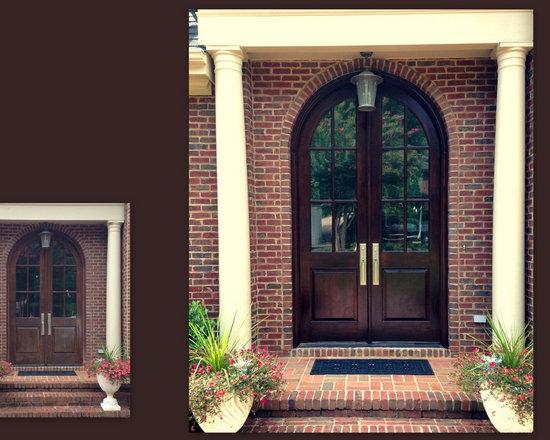 Front Door Refinished -