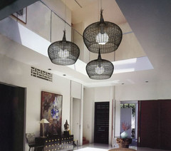 Design Plus You: Woven Pendant Lights