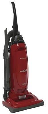 Panasonic Upright Vacuum Red contemporary-vacuum-cleaners