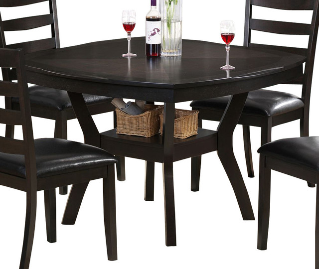 Square Dining Table With Bench: Monarch Specialties 48 Inch Square Dining Table In