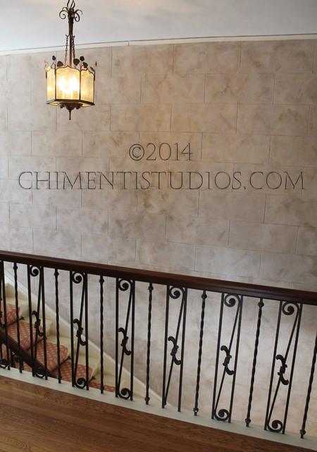 Artistic Wall Finishes, Chimenti Studios LLC mediterranean