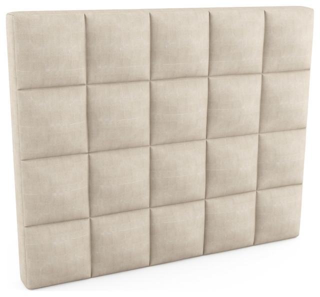 "Upholstered Headboard - 60""l x 48""h x 5""d (Eco-Friendly) modern-headboards"
