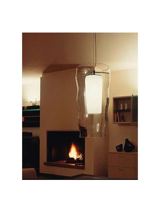BODONA PENDANT LAMP BY PENTA LIGHT - The Penta Light Bodona pendant lamp from the Italian