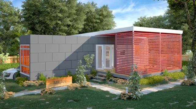 Milan Single Bedroom Container Home Modern Brisbane