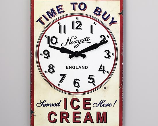 Time to Buy Wall Clock -