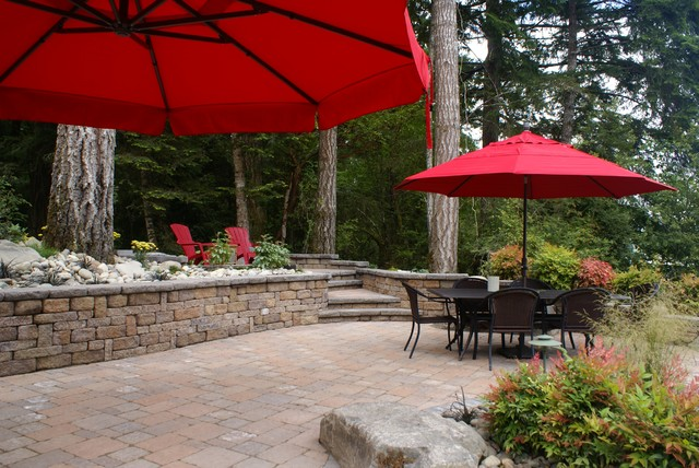 Outdoor Living Space - Traditional - Patio - Seattle - By Mutual Materials