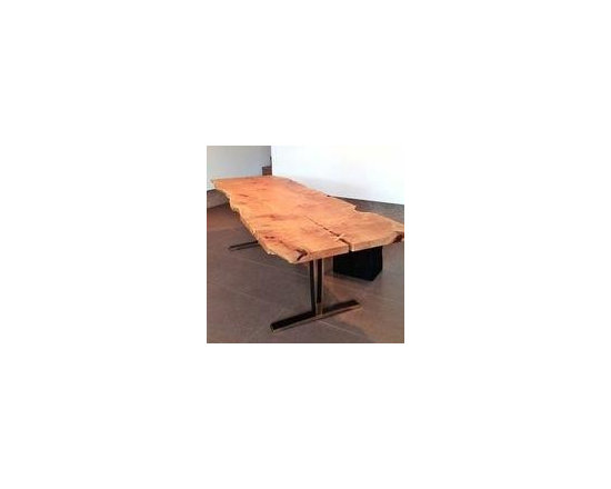 """MORE ARTISAN FURNITURE - SOLD -This stunning table is hand-made by NIcholas Purcell.  He was inspired by Malala Yousafzai - hence the name """"Malala Hugs and Stiches"""" he gave to this project.  Part of the money from the sale of this table will be donated to a charity for children."""