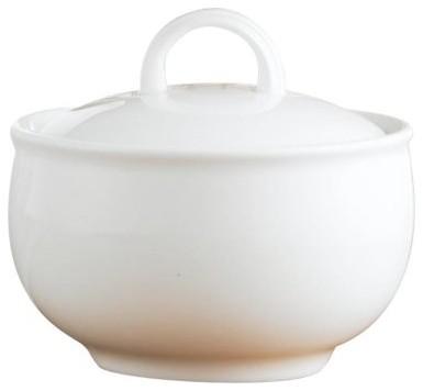 Lenox Aspen Ridge Sugar Bowl modern-serving-and-salad-bowls