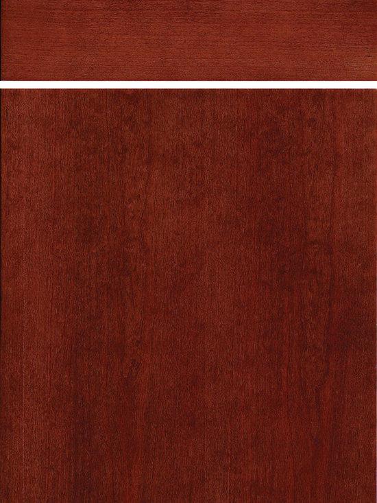 "Dura Supreme Cabinetry - Dura Supreme Cabinetry Moda Cabinet Door Style - Dura Supreme Cabinetry ""Moda"" cabinet door style shown in Cherry with  in Dura Supreme's ""Mission"" finish."