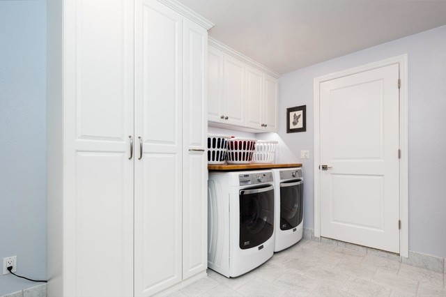 ... - Laundry Room - san francisco - by Valet Custom Cabinets & Closets