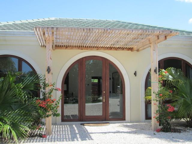 Caribbean Beachhouse contemporary-front-doors